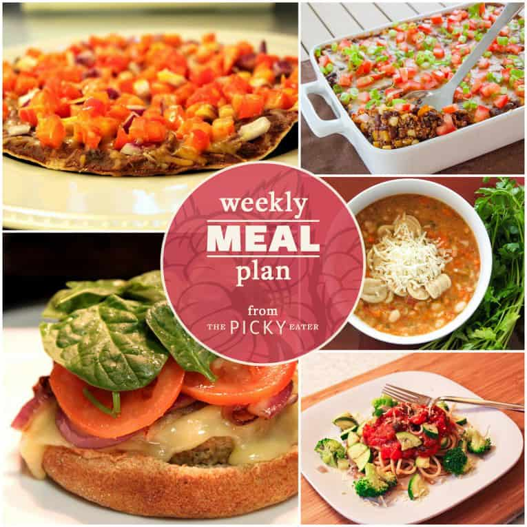 The Picky Eater Meal Plan (Week 1) - The Picky Eater