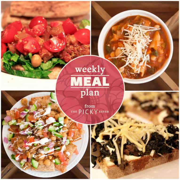 The Picky Eater Meal Plan (Week 8) - The Picky Eater