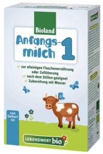 Lebenswert Stage 1 Organic baby formula