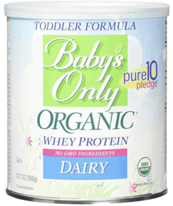 baby's only with whey baby formula