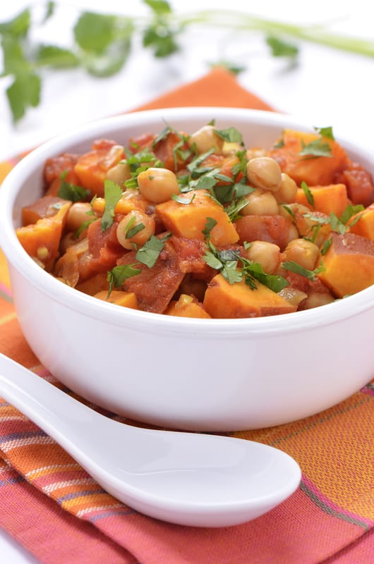 sweet potato curry with chickpeas. quick easy recipes, healthy food for picky kids, healthy food for picky husband, healthy tasty food, healthy food on a budget