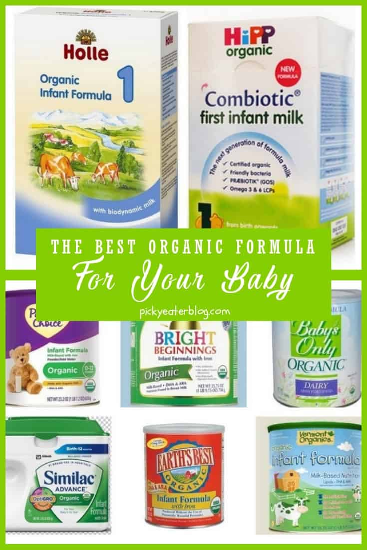 What's The Best Organic Formula For Your Baby? (The Picky Eater