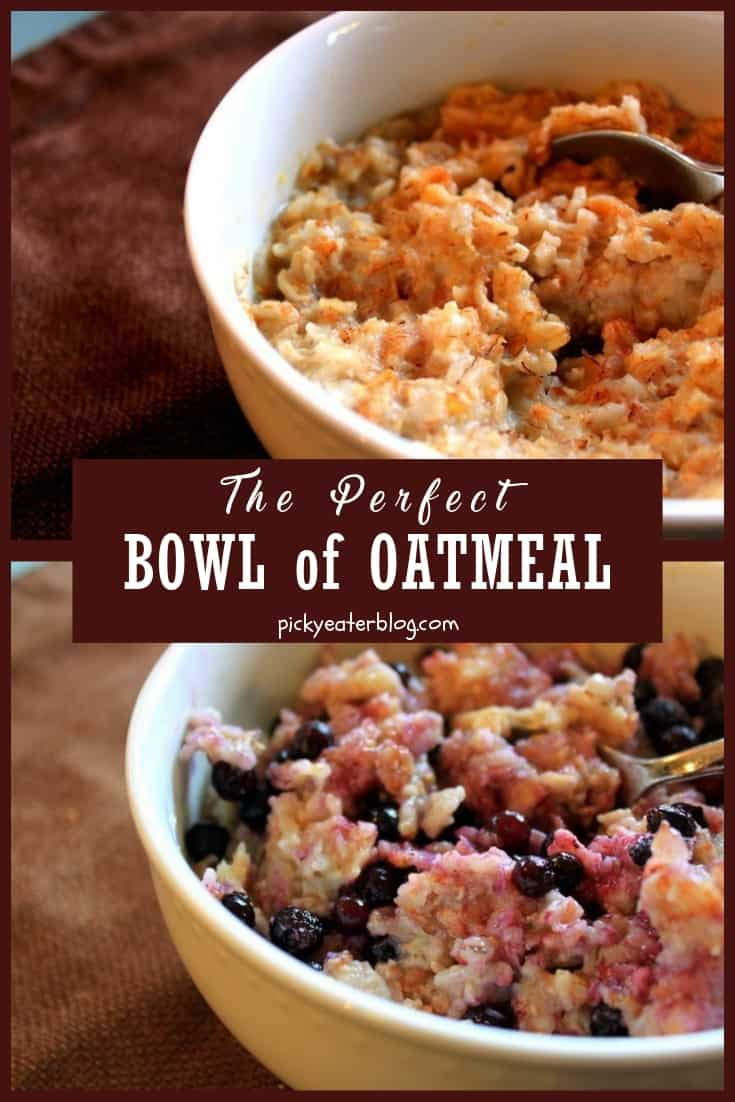 the perfect bowl of oatmeal. quick easy family meals, healthy recipes for kids, nutritious food for kids, healthy food for picky eaters adults, easy healthy food recipes.