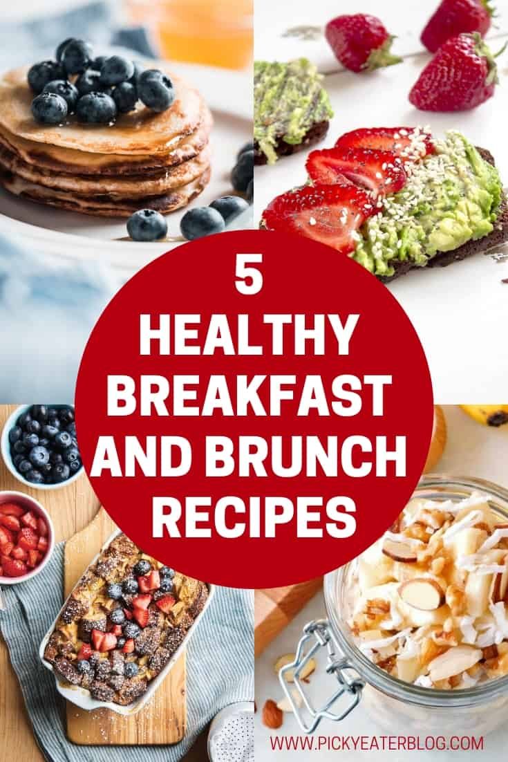 These five recipes are simple, easy, delicious and nutritious, and are guaranteed to please even the pickiest eaters in the morning!
