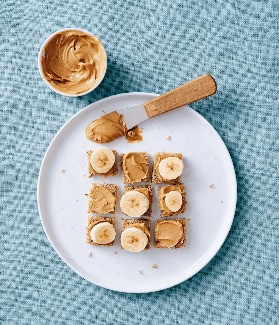 healthy breakfast and brunch recipes - peanut butter toast