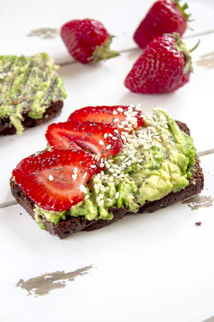 healthy breakfast and brunch recipes - avocado toast