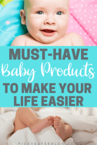 Do yo ever wonder what baby really needs? Well here is the must-have baby products to make your life easier!