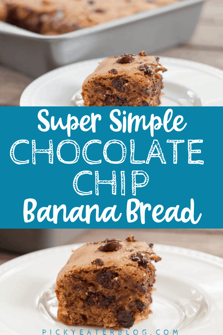 You don't have to sacrifice great flavor when you bake healthy! Check out this simple, healthy, chocolate chip banana bread recipe that tastes delicious!