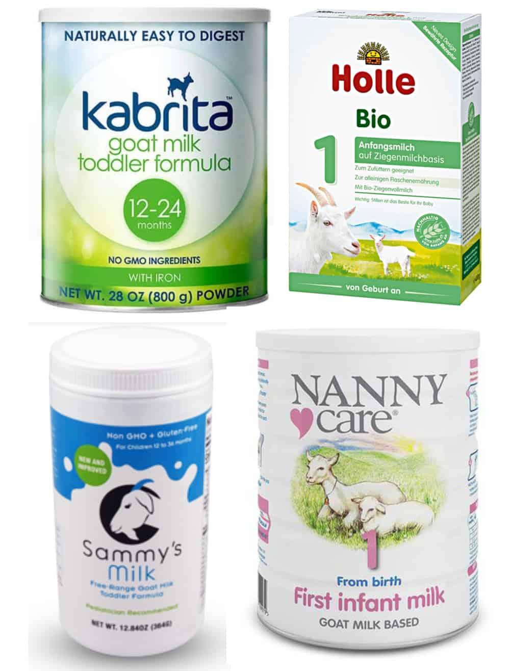 best goat milk formula