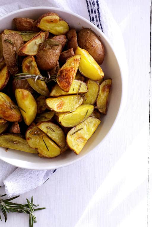 oven roasted rosemary potatoes