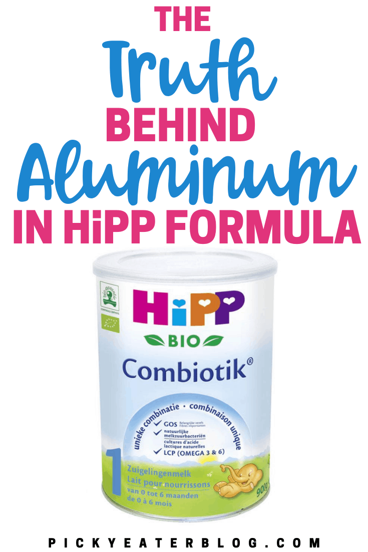 Organic formulas from Europe are some of the best formula options for babies in the US. Learn more about the truth behind aluminum in HiPP formula here!