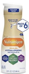 Nutramigen® ready to feed - best hypoallergenic formulas