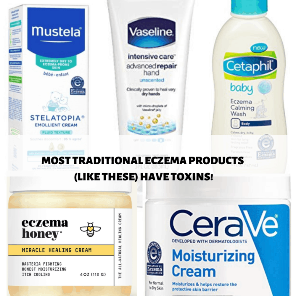 photos of products that don't count as true natural eczema remedies for babies