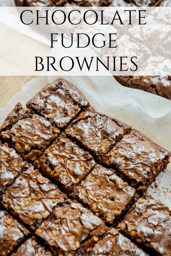 These chocolate fudge brownies with walnuts are rich and indulgent: the perfect sweet treat to end your evening. Easy to make and ready in under 1 hour!