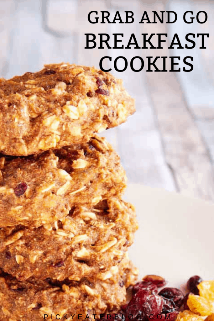 These healthy breakfast cookies are perfect to have on hand when you need breakfast in a hurry. Easy to make and packed full of goodness, I'm sure these will become a staple in your home!