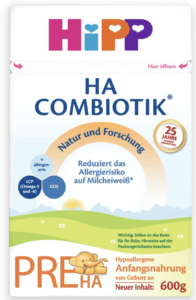 hipp ha pre baby formula for constipation