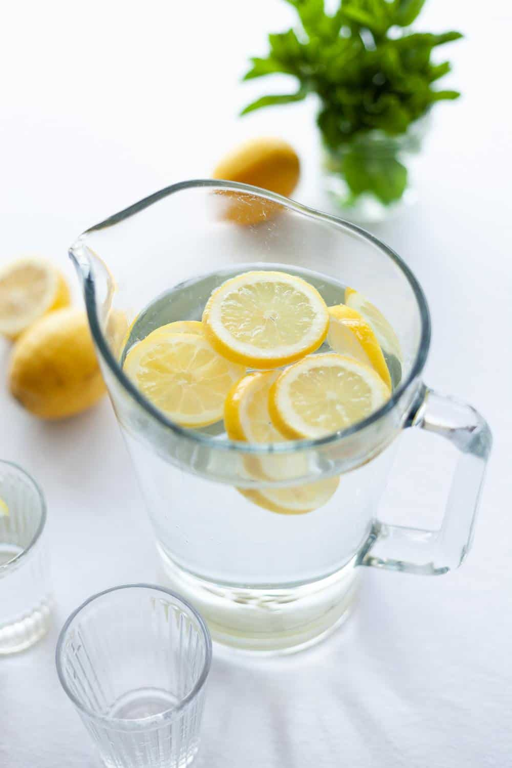 lots of fluids - what to eat when you're sick