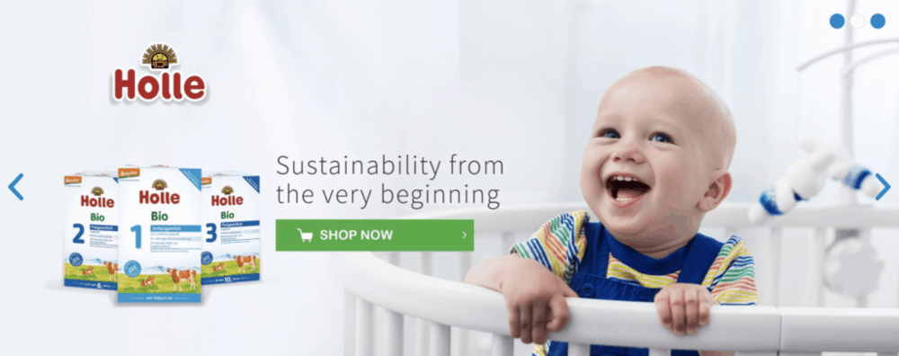 Organic Baby Food - where to buy the best organic baby formula - holle, hipp and lebenswert formula