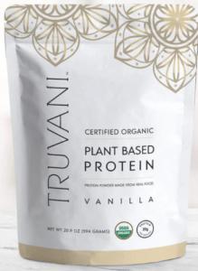 truvani vanilla protein powder - best protein powders for women