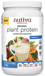 nutiva plant protein powder - best protein powders for women