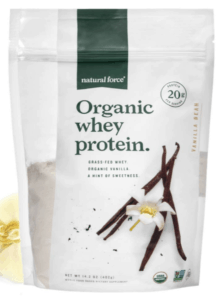 natural force whey protein powder - best protein powders for women