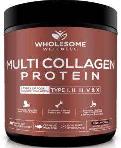 wholesome wellness collagen protein - best protein powders for women