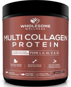 wholesome wellness collagen protein - best protein powders for women