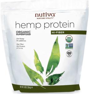nutiva hemp protein - best protein powders for women