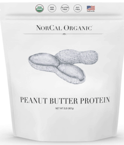 norcal organic peanut butter protein - best protein powders for women