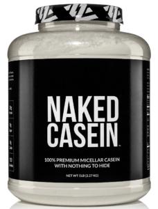 Naked Casein - best protein powders for women