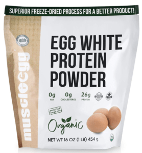 muscle egg white protein powder - best protein powders for women