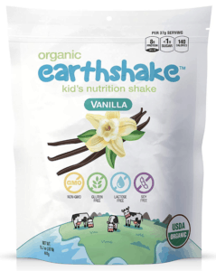 earthshake organic protein powder - best protein powder for kids