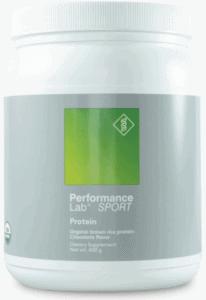 best protein powders - performance lab vegan protein