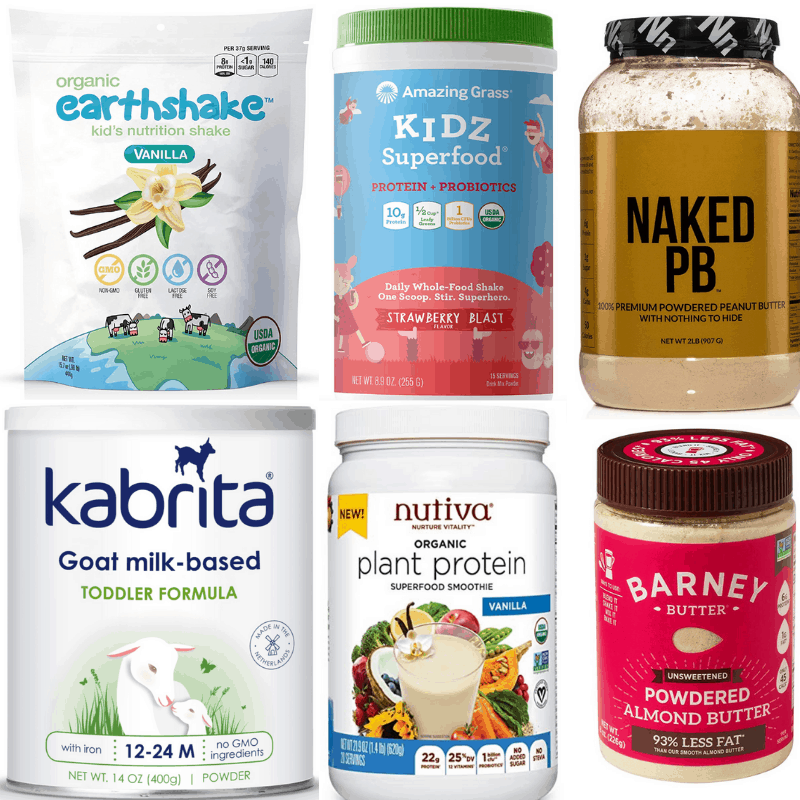 protein powders for kids - photo of healthiest kids protein powders on the market: amazing grass, kabrita, nutiva, earthshake, etc