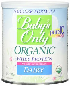 baby's only with whey toddler formula - best protein powders for kids