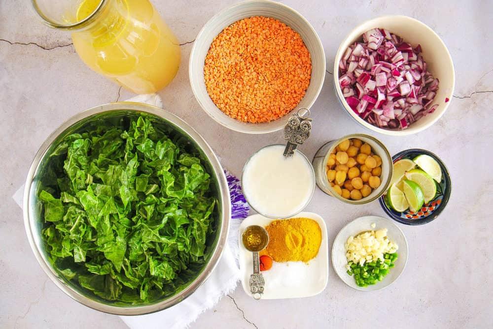 indian lentil soup ingredients
