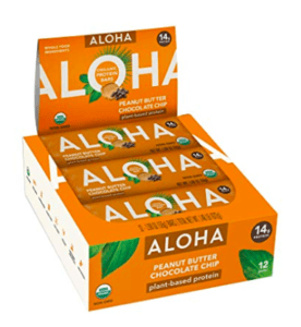 aloha bars - best vegan protein bars