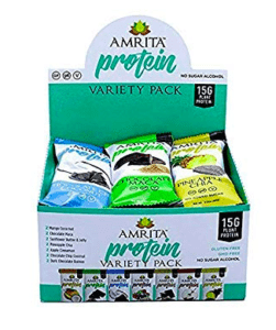 amrita foods - best vegan protein bars