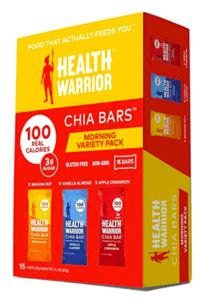 health warrior chia bars - vegan protein bars