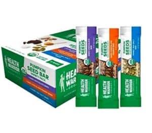 protein bars for kids health warrior pumpkin seed bars