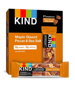 maple kind bars - best vegan protein bars