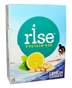 rise protein bar - best vegan protein bars