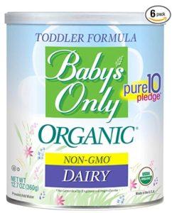 melhor fórmula de bebê orgânico do bebê