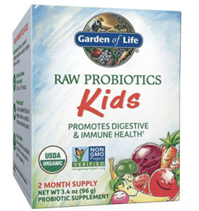 best probiotics for kids - garden of life