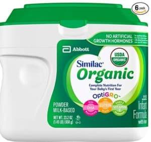 melhor fórmula bebê similac orgânico