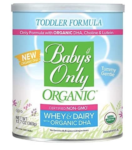 best baby formula babys only whey