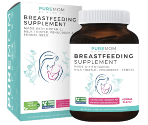 pure mom - best lactation supplements