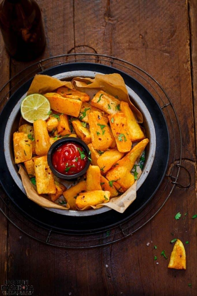 best air fryer vegetable recipes - mogo chips
