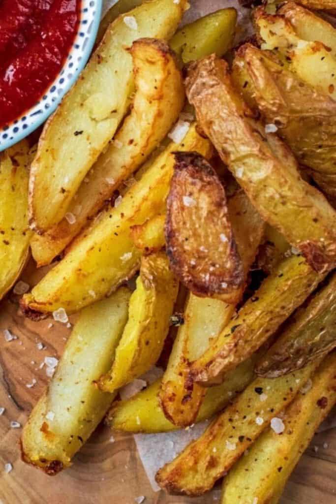 best air fryer vegetable recipes - fries