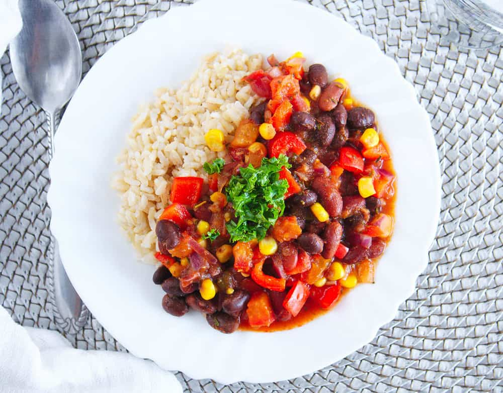Vegetarian Stew Recipe With Beans And Rice The Picky Eater